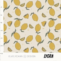 Lycra Lemons 20 x 160 cm