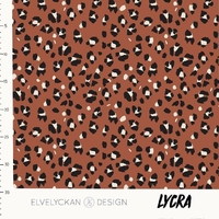 Lycra Lynx dots rusty 20 x 160 cm