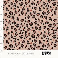 Lycra Lynx dots pink 20 x 160 cm