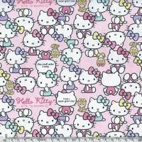 Tissu Hello Kitty 20 x 110 cm