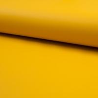 Tissu enduit spécial ciré coloris jaune moutarde 20 x 135 cm