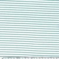 Jersey mini rayures mint 20 x 140 cm