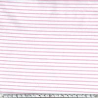 Jersey mini rayures guimauve 20 x 140 cm