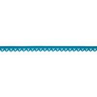 Elastique dentelle 13mm coloris Turquoise x10cm