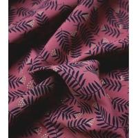 Viscose Rameaux coloris Pourpré 20 x 135 cm