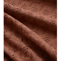 Broderie anglaise Ambre 20 x 130 cm