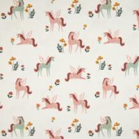 Jersey licornes d'automne 20 x 140 cm