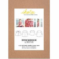 Patron blouse et robe STOCKHOLM 6 mois- 4 ans