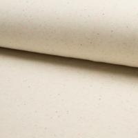 Molleton moucheté fond écru 20 x 140 cm