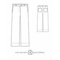 Patron pantalon Allure (34-48)
