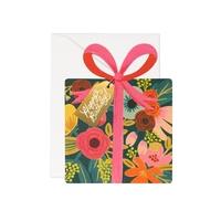 """Carte double """"Happy Birthday"""" avec enveloppe"""