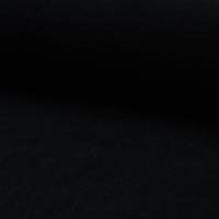 Jersey velours lisse (nicky) coloris noir 20 x 140 cm
