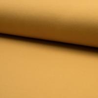 Molleton uni coloris moutarde 20 x 150 cm