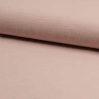 Tissu viscose et lin coloris nude 20 x 135 cm