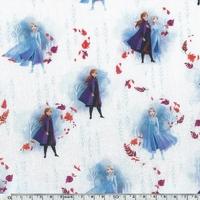 Popeline Reine des neiges 20 x 140 cm