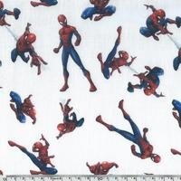 Popeline Spiderman 20 x 140 cm