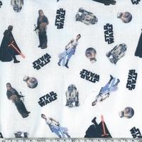 Popeline Star Wars 20 x 140 cm