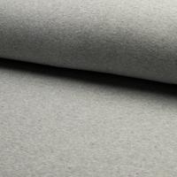 Molleton moucheté fond gris 20 x 140 cm
