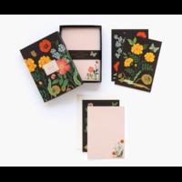 Set de 12 cartes et enveloppes Botanical