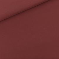 """Sweat léger """"French Terry"""" uni coloris bordeaux 20 x 150 cm"""