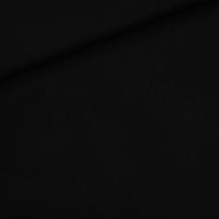 """Sweat léger """"French Terry"""" uni coloris black 20 x 150 cm"""