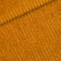 Velours côte extra large coloris dusan brown 20 x 150 cm