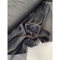 Doublure filet maillot de bain coloris noir 20 x 140 cm