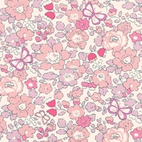 Liberty Exclusif Betsy Butterfly Rose 20 x 137 cm
