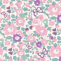 Liberty Exclusif Betsy Butterfly Lilac 20 x 137 cm