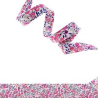 Biais Liberty Wiltshire bud bougainvillée coloris B 50 cm