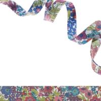 Biais Liberty Margaret Annie bruyère coloris G 50 cm