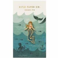 Pin's Mermaid sirène Rifle Paper
