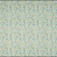 Voile de coton Osmose coloris kiwi 20 x 140 cm