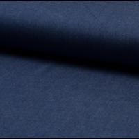 Viscose chambray Denim foncé 20 x 140 cm