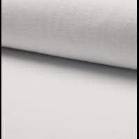 Jersey velours lisse (nicky) coloris blanc 20 x 140 cm