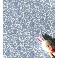 Liberty d'Anjo Coast coloris A bleu 20 x 137 cm