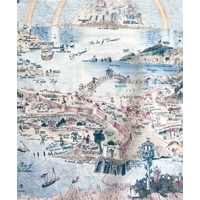 Liberty Story Island coloris C 20 x 137 cm