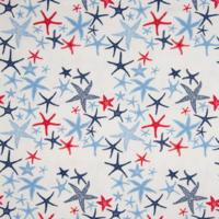 Jersey étoiles de mer 20 x 140 cm