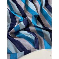 Coupon de jersey viscose lurex Côte d'Azur 1m60 x 155 cm