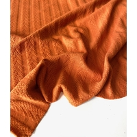 Coupon de maille douce coloris Carotte 2m40 x 1m