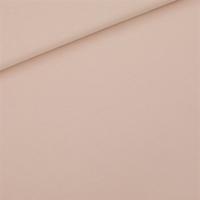 """Sweat léger """"French Terry"""" uni coloris rose pâle 20 x 150 cm"""