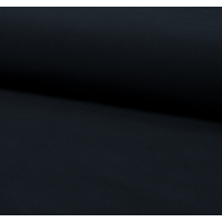 Jersey 95% coton 5% spandex marine 20 x 140 cm