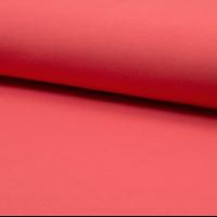 Jersey 95% coton 5% spandex corail 20 x 140 cm