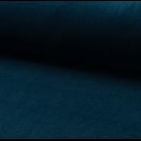 Jersey velours lisse (nicky) coloris pétrole 20 x 140 cm