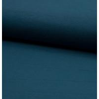 Jersey 95% coton 5% spandex pétrole 20 x 140 cm