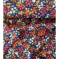 Liberty Sea Blossoms rouille coloris C 20 x 137 cm