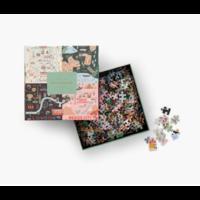 Puzzle 500 pièces Rifle Paper Maps