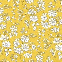 Liberty Organic Tana Lawn™ Capel miel coloris A 20 x 137 cm