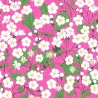Liberty Organic Tana Lawn™ Mitsi rose coloris C 20 x 137 cm