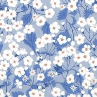 Liberty Organic Tana Lawn™ Mitsi parme coloris B 20 x 137 cm